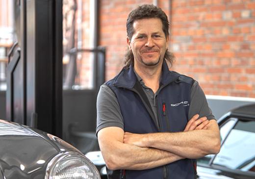 SCHAD Porsche Oldtimer Uli Guenster